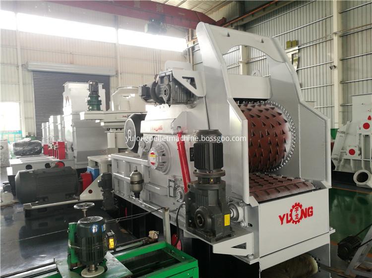 Poplar Wood Chips Processing Machine