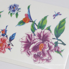 MOQ 500 Feet Or Other Parts Of Body Non-Toxic Paper Tattoo Sticker