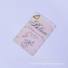 2016 high quality beautiful motto words paper fridge magnets for education