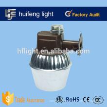 Metal 100 vatios de luz de la yarda de haluro