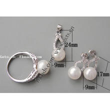 Gets.com 2015 fashion 925 sterling silver girl jewelry set