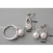 Gets.com 2015 moda 925 prata esterlina menina jóias conjunto