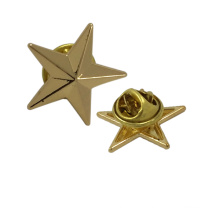 Garment Accessories Cheap Wholesale Star Metal Brooches