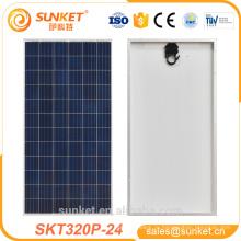 лучшая цена высокая мощность 320 Вт Поли панели солнечных батарей для домашнего использования