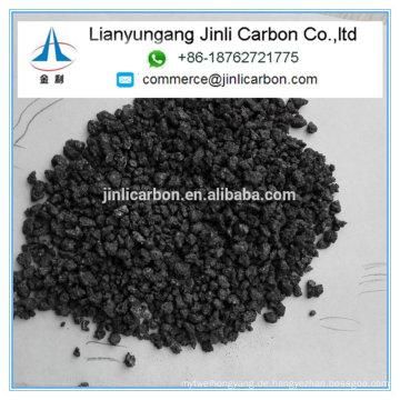 calcinierter Petroleumkoks CPC-Kohlenstoffadditiv-Wiederaufkocher für Eisenguss und Stahlherstellung