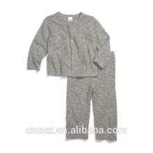 16STC1002 malha roupas de bebê de cashmere