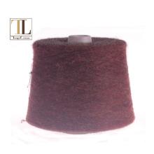 Fio de lã de alpaca elástico Topline para tricotar