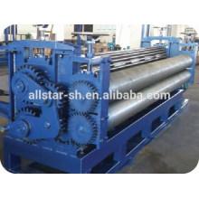 Galvanizado barril ondulado máquina para construção de silo de metal de aço