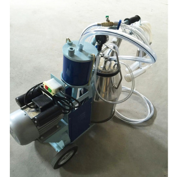 2 barrels Milking Machine with Piston Motor