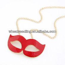 Pendentif en alliage à lèvres fantaisie design spécial pour crémaillère