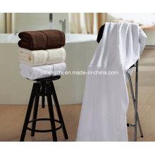 Heißer Verkauf Farbe weiß 100 % Baumwolle Hotel Handtuch