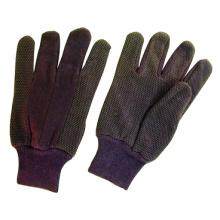 Браун-Джерси перчатки работы ПВХ мини-точек