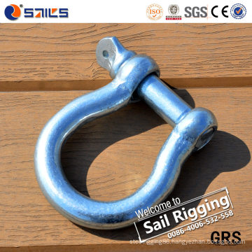 Electric Galvanized European Type Bow Shackle