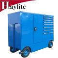 boîte à outils de chariot de réparation de voiture avec l'ensemble d'outil de chariot