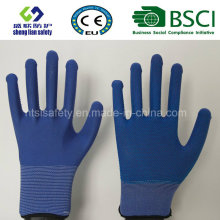 PVC Dots Work Safety Polyester Gloves
