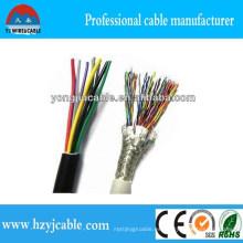 Cable de control 12 * 0.5mm 12 * 0.75mm Cable de cobre de 12 * 1m m Cable de control blindado Especificación Cable de control flexible
