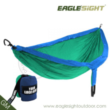 Hamac à double parachute compressé de haute qualité