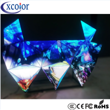 Stage flessibile P5 DJ Booth Display Triangle LED