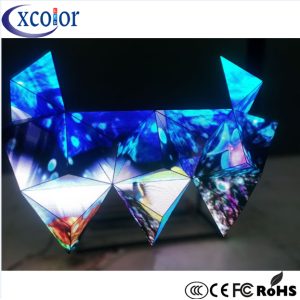 Stage Flexible P5 DJ Booth Display Triangle LED