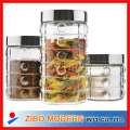 Glass Jar with Metal Lid
