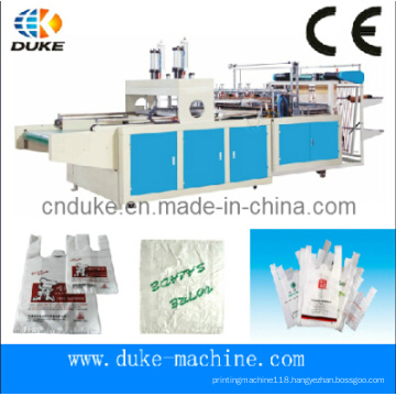 Type Hot Cutting Automatic T-Shirt Bag Making Machine (DFHQ-450X2)