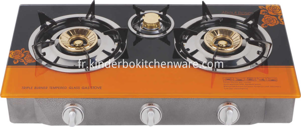 Table Glass Gas Cooker