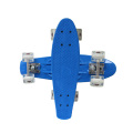 22*6 inches Flash Wheels Plastic Penny Skate Board