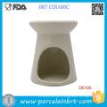 Nouveau brûleur à huile essentielle en céramique blanche