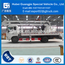 DONGFENG high up truck 18M 20M 22M truck mounted portable work platform