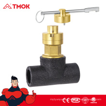 Fashion design Standard CW617N brass material Magnetic control valve/Magnetic Stop valve with good quality in TMOK