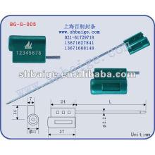 Selo de cabo recipiente selo de caminhão BG-G-005