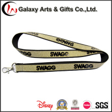 fashion Hot Sale Blink Polyester Custom Glitter Lanyard