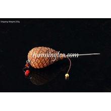 Pinecone Handle Pu Er Bolo Escolha