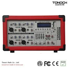 EMX4300UB Misturador para DJ de 4 canais com potência de 300 watts RMS