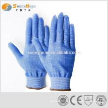 13gauge HPPE синие мясные режущие перчатки