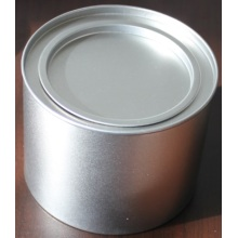 White Iron Jar, Iron Tin Can, Stainless Steel Can, Food Can, Airtight Can with Lid