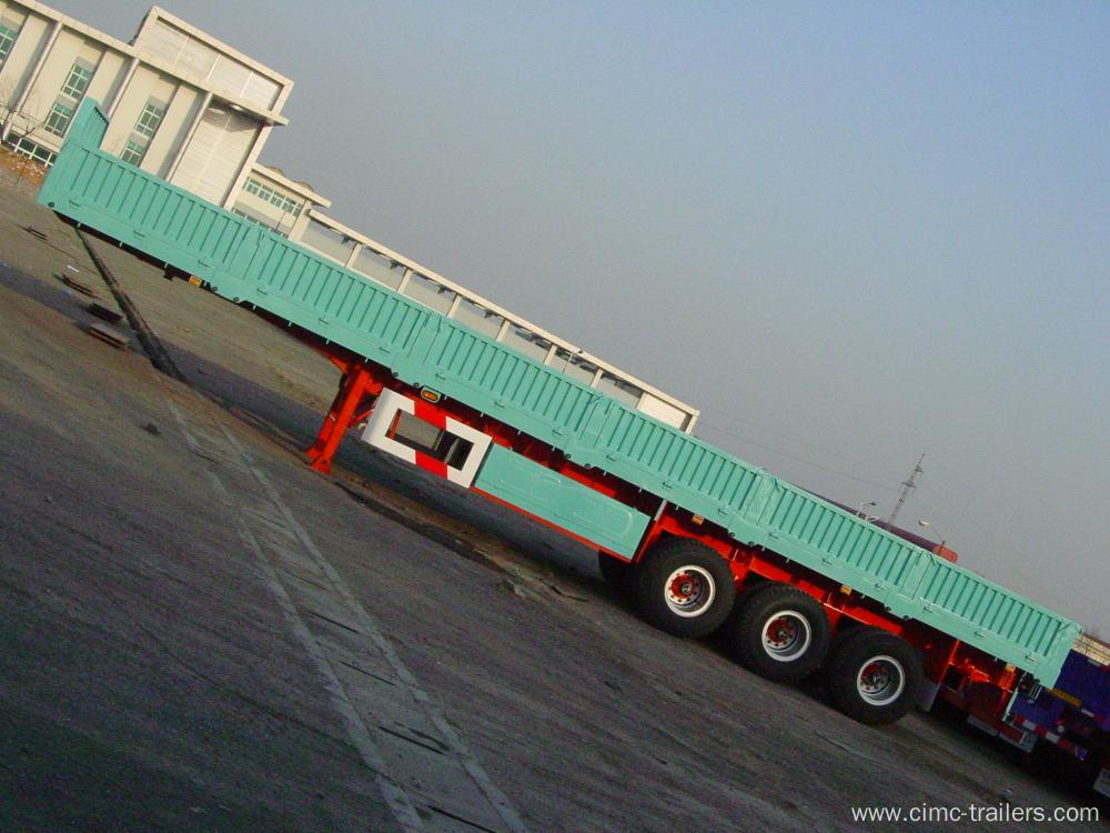 40' TRI-AXLE SIDE BOARD SEMI-TRAILER