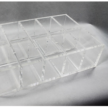 Clear Acrylic Organizer for Makeup Store