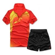 Grossist billiga 2014 Badminton New Jersey Badminton T-Shirt Design Badminton bära på heta försäljning
