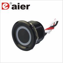 Commutateur à bouton-poussoir 22mm avec LED de câblage