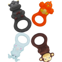 Custom Making Kunststoff Baby Gummi Teethers Spielzeug Made in China