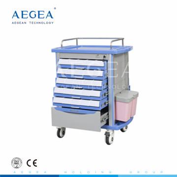 AG-MT001A1 Hohe Qualität abs einfache flexible Notfall medizinische Erste-Hilfe-Wagen