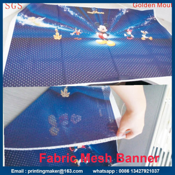 Polyester Mesh Fabric Banner Printing