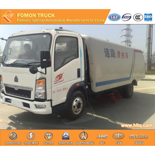 HOWO 4X2 multifunctional street sweeper truck
