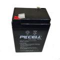 Batería de respaldo Batería recargable sellada de plomo 6V 4Ah