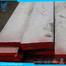 ASTM A246: barre plate en acier inoxydable 304L diluée et décapée