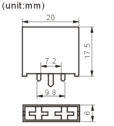 FH-611-1 fuse holder