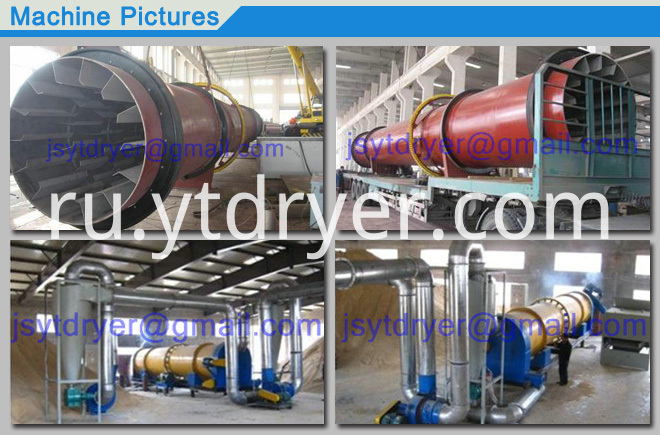 Rotary Cylinder Drying Machine