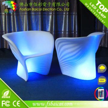 Chaise de salle à manger LED RGB en gros