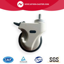 ABS100*32 Medical Caster Wheel with brake